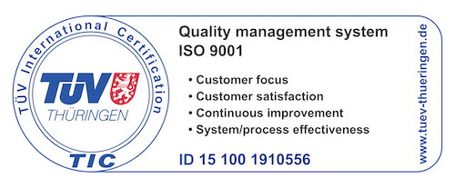certificazione TUV Kezal chemicals